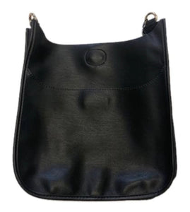 Soft Vegan Leather Classic Size Messenger - NO STRAP ATTACHED