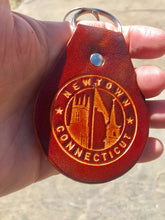 Hometown Leather Key Fob