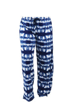 Load image into Gallery viewer, Blue Tie-Dye Lounge Pants