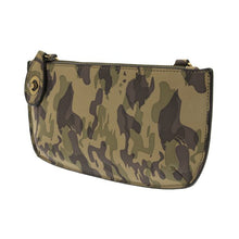 Load image into Gallery viewer, Camo Crossbody Wristlet Clutch