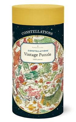 Vintage Puzzle -Constellations 1,000 Piece Puzzle