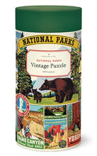 Load image into Gallery viewer, Vintage Puzzle - National Parks 1,000 Piece