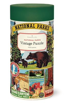 Vintage Puzzle - National Parks 1,000 Piece
