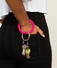 Load image into Gallery viewer, Seed Bead Key Ring- Many Colors