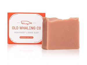 Old Whaling Co. Bar Soap - Seaberry and Rose Clay