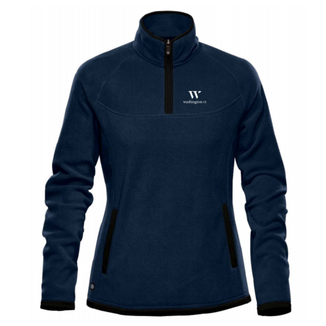 Washington Women's Fleece - Navy
