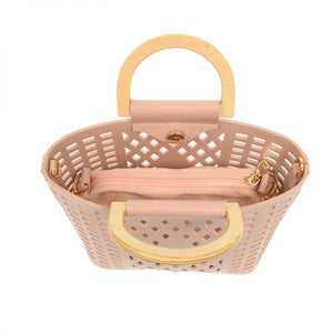 Cut Out Tote - Blush