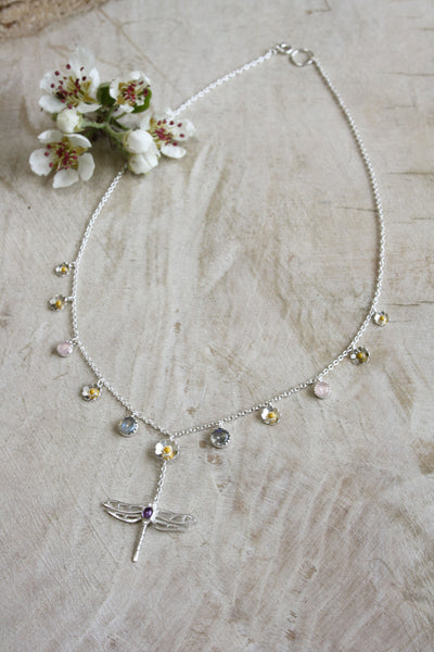 Large Dragonfly Necklace
