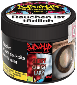 BAD & MAD Tabak 200g - Chrry Chrry Lady