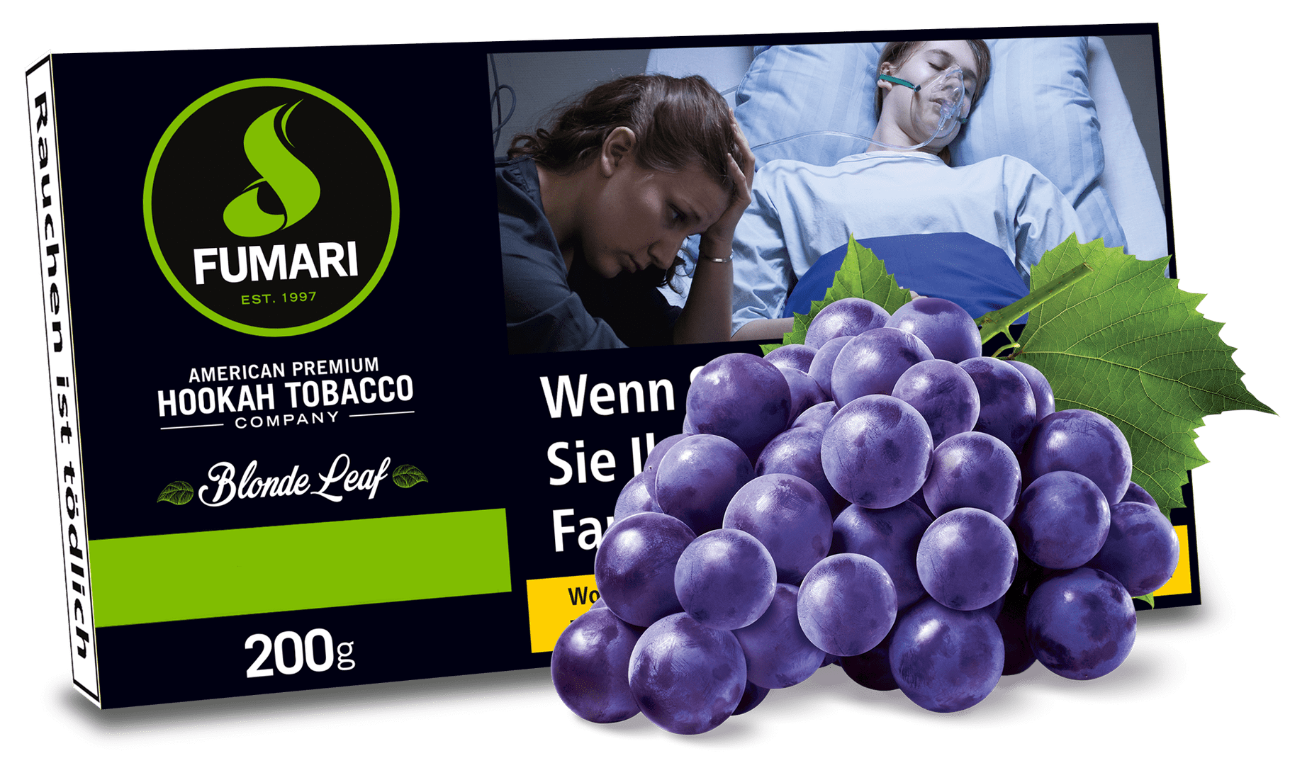 FUMARI Tabak 200g PURPLE CRUSH (Purple Grape) Traube