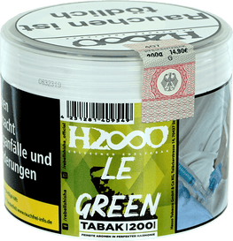 HASSO Freezy Tabak 200g Le Green