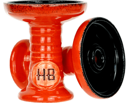 HOOKAH BLACK Harmony Phunnel - Orange - HOOKAH BLACK