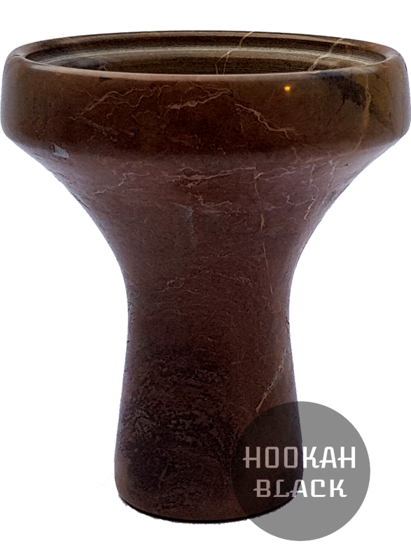 HOOKAH BLACK Steinkopf Tabakkopf - Braun Natural Colour
