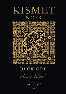 KISMET NOIR 10 Honey Blend Edition - BLCK GRP - HOOKAH BLACK