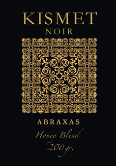 KISMET NOIR 23 Honey Blend Edition - ABRAXAS - HOOKAH BLACK