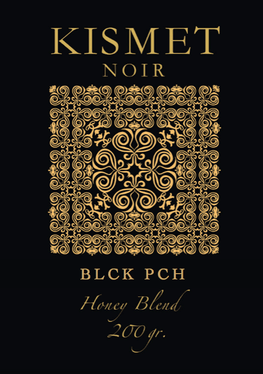 KISMET NOIR 12 Honey Blend Edition - BLCK PCH - HOOKAH BLACK