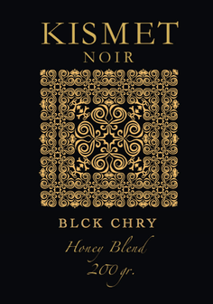 KISMET NOIR 2 Honey Blend Edition - BLCK CHRY - HOOKAH BLACK
