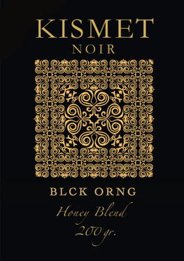 KISMET NOIR 35 Honey Blend Edition - BLCK ORNG - HOOKAH BLACK
