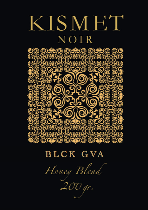 KISMET NOIR 9 Honey Blend Edition - BLCK GVA - HOOKAH BLACK