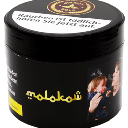 HQT - High Qulity Tobacco / INFINITY GOLD Tabak 200g - Molokow - Zitrone, Ice - HOOKAH BLACK