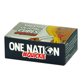 ONE NATION #Quickie 26er Selbstzünderkohle - 26mm - HOOKAH BLACK SHOP