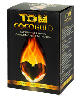 TOM COCO GOLD Premium 25mm Naturkohle 1kg