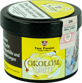 True Passion Tabak 200g OKOLOM WHITE