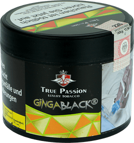 True Passion Tabak 200g - GiNGABLACK ® - HOOKAH BLACK