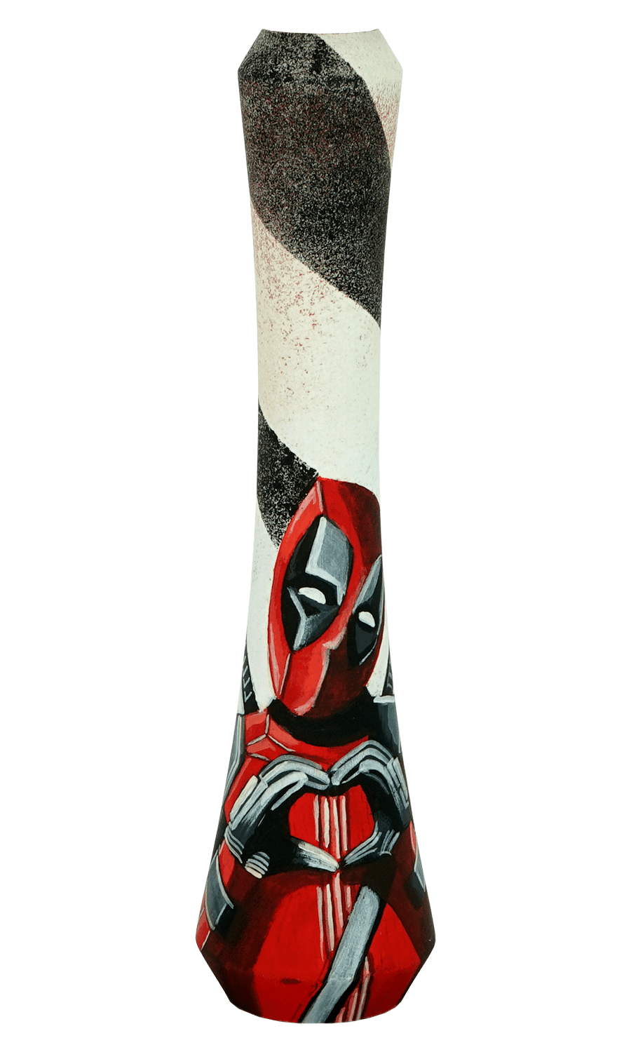 UNION Hookah COMICS Series - Deadpool, Marvel - HOOKAH BLACK
