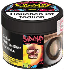 BAD & MAD Tabak 200g - Lady en Rogue