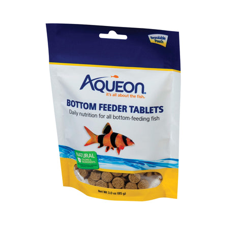Aqueon Bottom Feeder Fish Food 36 3 ounce tablets - ViTaiLity Pet Supply