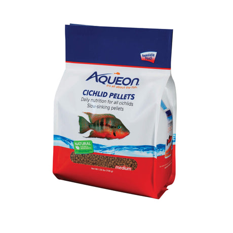 Aqueon Cichlid Fish Food 25 ounces - ViTaiLity Pet Supply