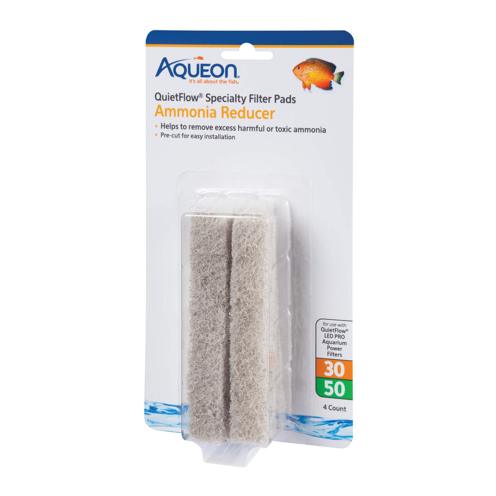 Aqueon Replacement Phosphate Removcer Filter Pads Size 30/50 4 pack - ViTaiLity Pet Supply