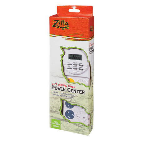 "Zilla 24/7 Digital Power Center 4.125"" x 2"" x 12.25"" - ViTaiLity Pet Supply"