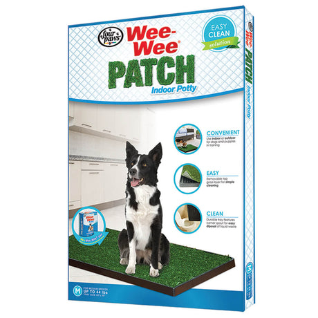 "Four Paws Wee-Wee Patch Indoor Potty Medium 30"" x 20"" x 1"" - ViTaiLity Pet Supply"