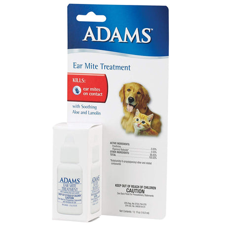 Adams Flea and Tick Ear Mite Treatment 5 ounces - ViTaiLity Pet Supply