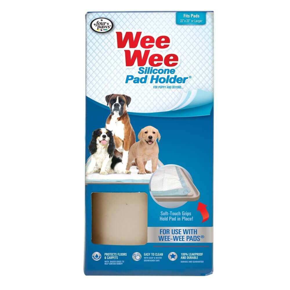 Four Paws Wee-Wee Silicone Pad Holder - ViTaiLity Pet Supply