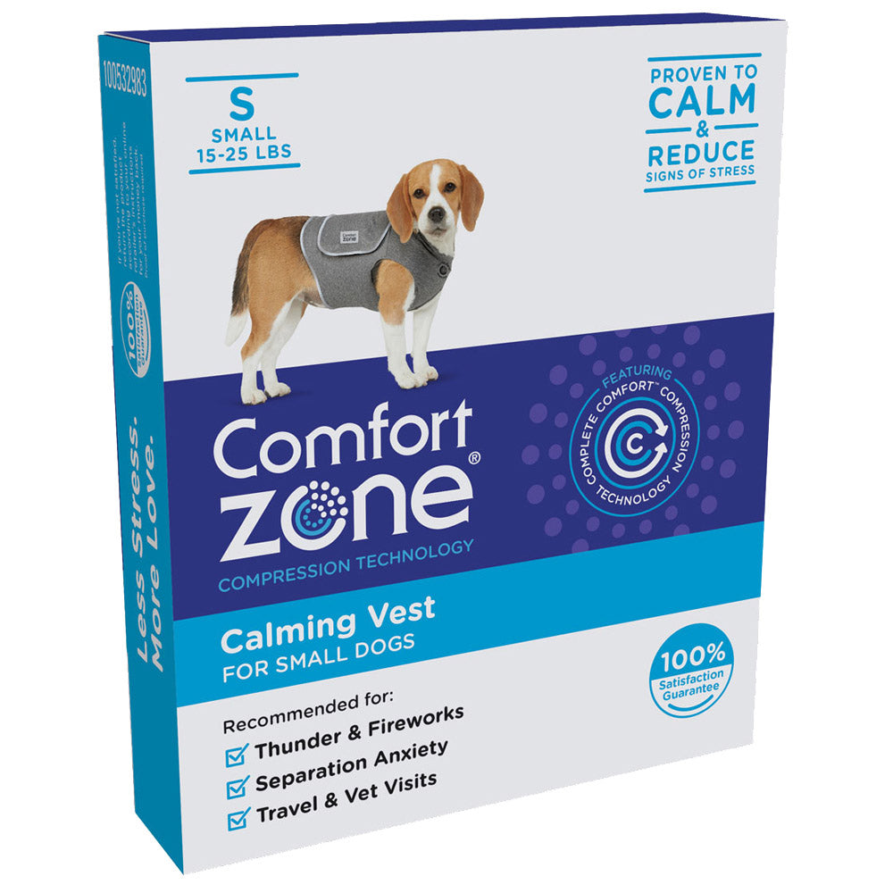 Comfort Zone Dog Vest Small - ViTaiLity Pet Supply