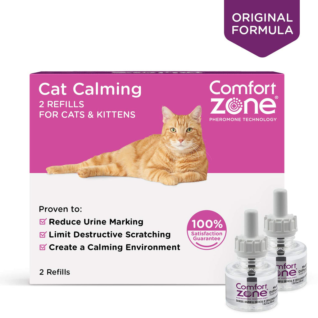 Comfort Zone Cat Calming Refill 2 pack - ViTaiLity Pet Supply