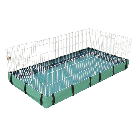 "Midwest Guinea Habitat Canvas Bottom Teal 47"" X 24"" X 4"" - ViTaiLity Pet Supply"