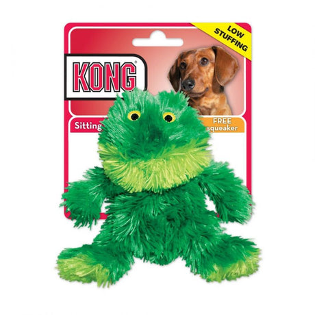 "Kong Plush Frog Dog Toy Small 5"" - ViTaiLity Pet Supply"
