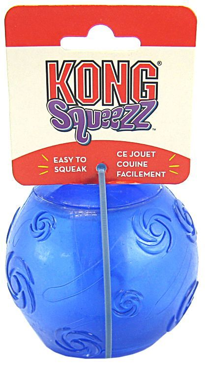 "Kong Squeezz Ball Dog Toy - Assorted X-Large 3.5"" Diameter - ViTaiLity Pet Supply"