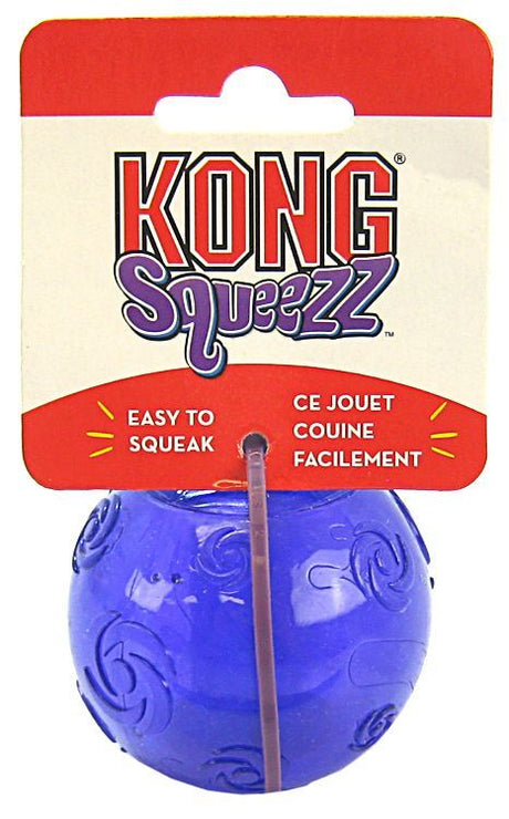 "Kong Squeezz Ball Dog Toy - Assorted Medium 2.5"" Diameter - ViTaiLity Pet Supply"