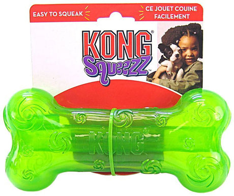 Kong Squeezz Bone Dog Toy Large - ViTaiLity Pet Supply
