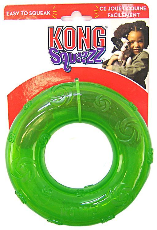 Kong Squeezz Ring Dog Toy Large - ViTaiLity Pet Supply