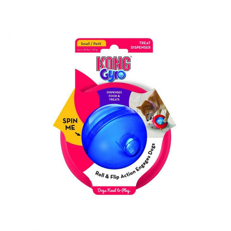 "Kong Gyro Dog Toy Small 5"" Diameter (Assorted Colors - ViTaiLity Pet Supply"
