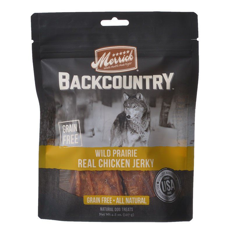 Merrick Backcountry Wild Prairie Real Chicken Jerky - ViTaiLity Pet Supply