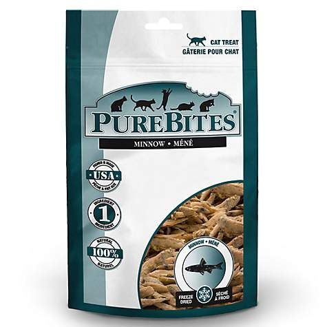 PureBites Minnow Freeze Dried Cat Treats 1.09oz - ViTaiLity Pet Supply