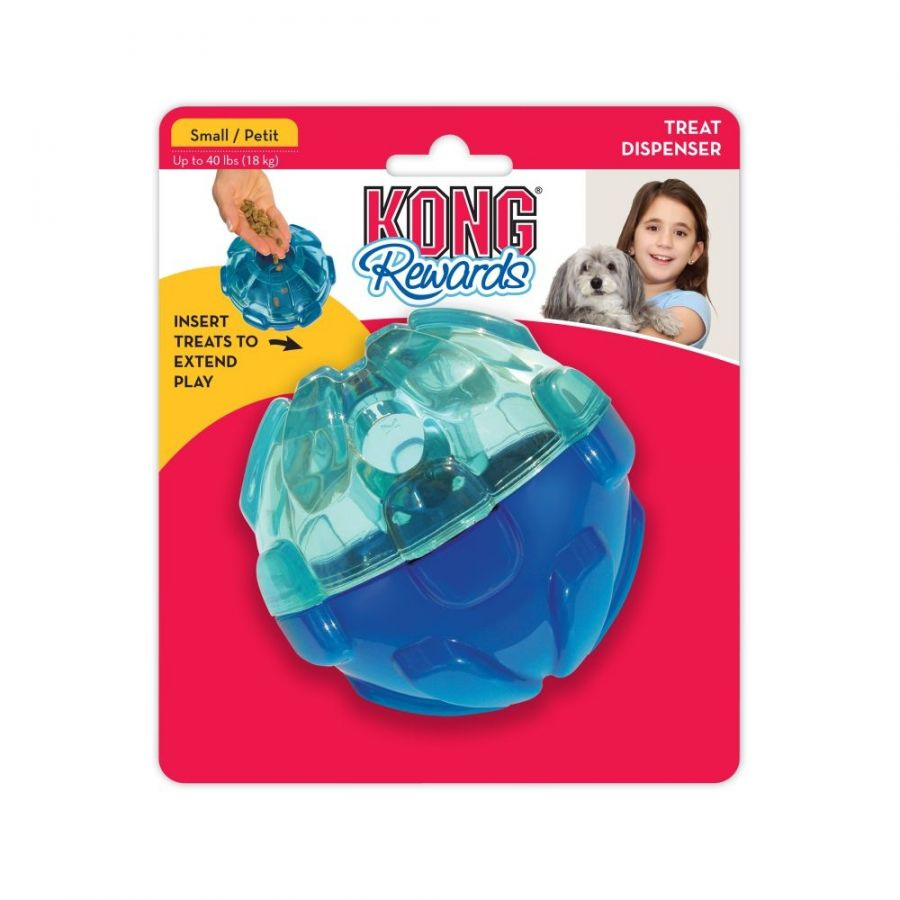 Kong Rewards Ball Small 1 Count - ViTaiLity Pet Supply