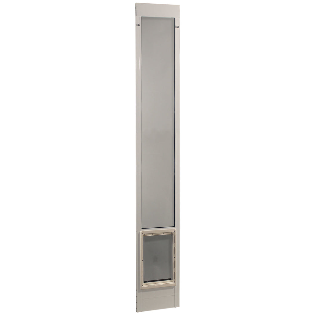 "Ideal Pet Products Fast Fit Pet Patio Door Extra Large White 2"" x 15"" x 93.62"" - ViTaiLity Pet Supply"